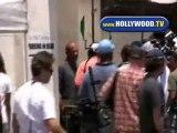 Wentworth Miller Filming Prison Break