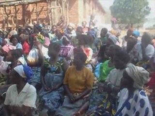 Malawi, Singo Village: Bednet distribution