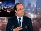 """Hollande dénonce  """"un Etat UMP"""" mis en place par Sarkozy"""