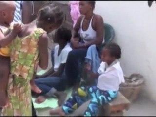 Senegal, Guinaw Rail: Bednet distribution