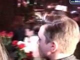 Jesse McCartney Arrive at Trousdale