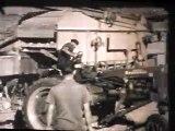 Battages La Terrasse sur Dorlay 1953