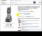 Panasonic Telephones Cordless - Telephone Handset -
