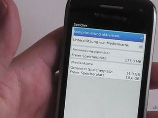 BlackBerry Curve 9380 Test / Review HD Deutsch / German