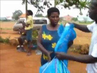 Uganda, Kabati: Bednet distribution