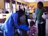 Uganda, Mbarara: Bednet distribution