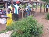 Togo, Keran, Kante: Bednet distribution