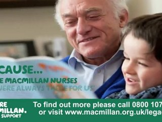 Why Macmillan are in my will.....