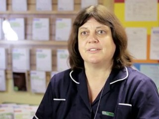 Angela, Macmillan breast cancer nurse specialist