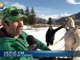 Le ski joëring, un sport alliant ski et équitation