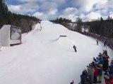 TTR Tricks - Sebastien Toutant 2nd Place Run At Slopestyle World Snowboarding Championships