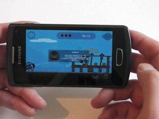 Samsung Wave 3 Gaming Test / Review HD Deutsch / German S8600