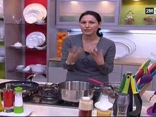 Choumicha - Recette khli3 et pain feuilleté
