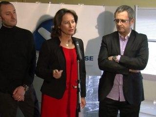 Conférence de presse à La Rochelle le 21 février 2012
