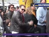 Matt Damon, Adam Sandler , Harrison Ford and many more stars spotted at the Lakers Game