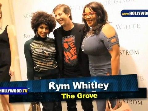 Debi Mazar, Ryan Eggold, and Kym Whitley at The Grove