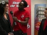 Mathieu Duchêne et Nathalie Ralliard Avant (Chanter pour nos coachs)