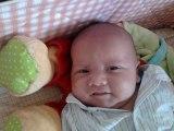 bébé léo de la naissance a 4 mois que du bonheur !!!!