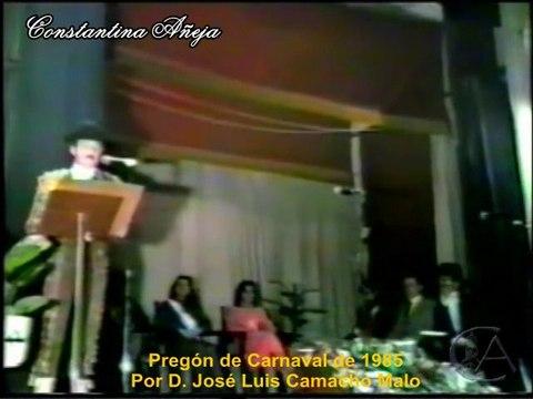 Pregón 1985