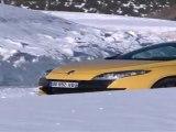 Cours de pilotage sur glace en Renault Mégane RS