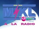 Tous les matin Mikl à la radio c'est ça - Octobre 2011 - Mikl à la radio Fun Radio Belgique