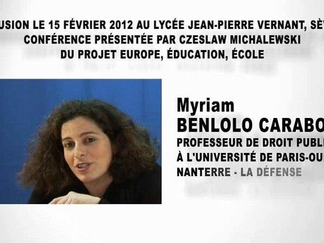 Les relations internationales et le droit (1ère partie), Myriam BENLOLO CARABOT
