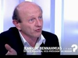 """""""C'est-à-dire"""" : Jean-Luc Bennahmias face à Axel de Tarlé sur France 5"""
