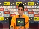 Deportes: Fútbol/ El Barcelona empieza a preparar la visita al Vicente Calderón