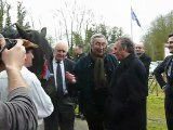 Conty : François Bayrou aux Ateliers du Val de Selle