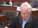 François Dufour présente le schéma d'évolution des exploitations des lycées agricoles - AP février 2012