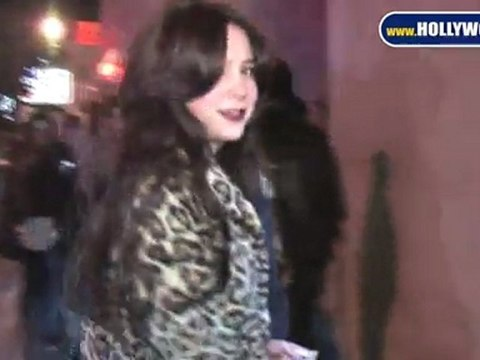 Alessandra Torresani EXCLUSIVE The Supperclub 112410 YT