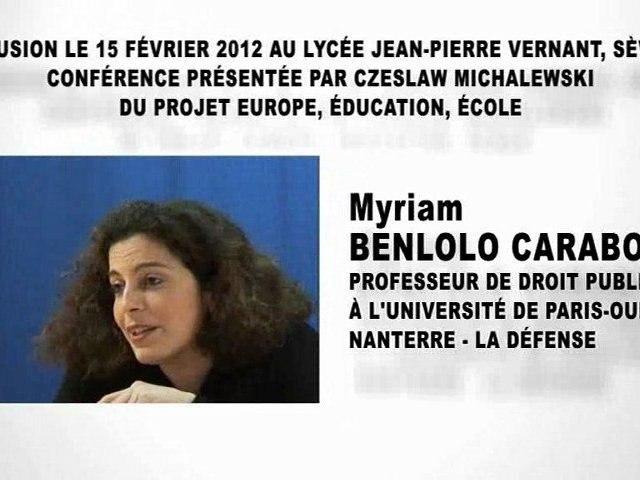 Les relations internationales et le droit  (3e partie), Myriam BENLOLO CARABOT