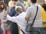 Joan Rivers, Melissa Rivers at The Grove on 'Extra'