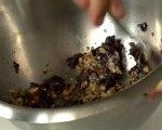 Recette d'oignons farcis au gorgonzola et noix