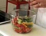 Recette de gaspacho épicé au vinaigre balsamique blanc