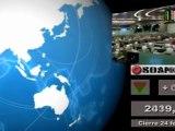 Bolsas; Mercados internacionales: Cierre  jueves 23 y media sesión viernes 24 de febrero