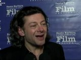 Gollum The Hobbit CGI Actor The Lord of The Rings Andy Serkis SBIFF 2012