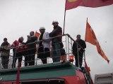 François Hollande à Florange pour soutenir les salariés d'Arcelor MIttal