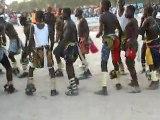 Lutte sénégalaise - Avant le combat - Danses rituelles collectives