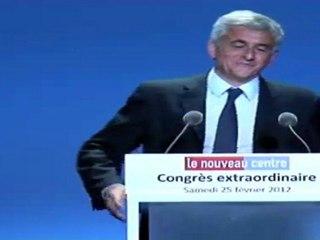 Discours de clôture d'Hervé Morin - Congrès Extraordinaire 25.02.12