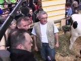 SIA 2012 : Grande cohue pendant la visite de François Bayrou