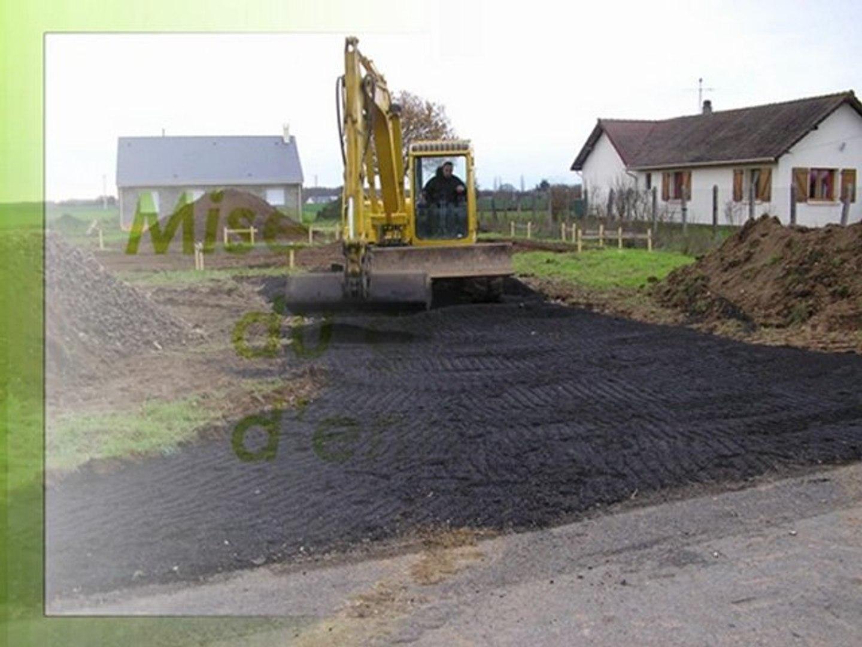 Prix Geotextile Pour Chemin D Accès terrassement d'un chemin d'accès chantier dans l'eure par votre paysagiste