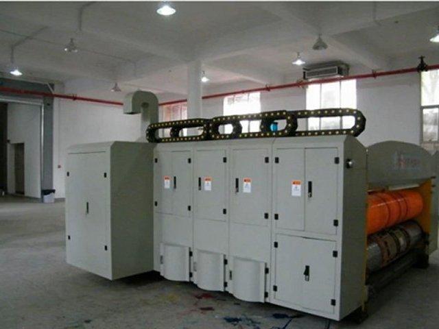 GYK high-speed flexo ink printing pressing corner-cutting and slotting machine(Printing Slotter,Printing slotting