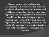 Some Home Truths about Shared Parenting Child Custody Arrangements
