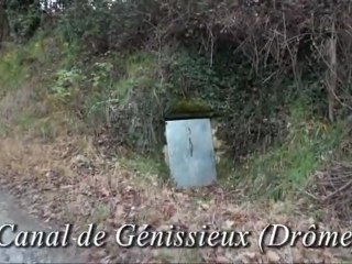 Le canal de Génissieux (Drôme)