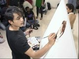 Ali Zafar Paints Aditi Rao On Canvas - Bollywood News