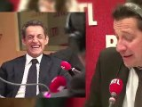 Laurent Gerra imite Nicolas Sarkozy... devant Nicolas Sarkozy !