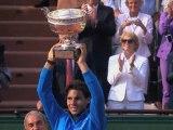 Nadal vs Federer - Match Point Roland Garros 2011