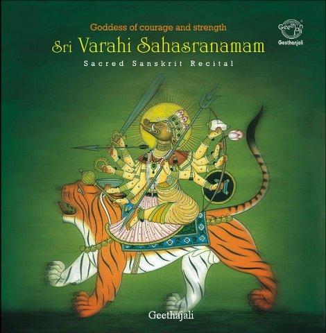 Sri Varahi Sahasranamam — Varahi Gayatri — Sanskrit Spiritual