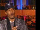 JAMIE FOXX LOVES DREAMGIRLS, GIVES PROPS TO BEYONCE